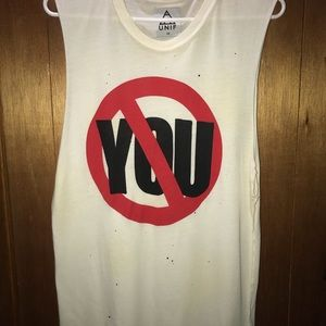 Unif Say No You Muscle Shirt
